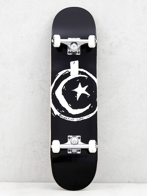 Skateboard Foundation Star And Moon (black/white)
