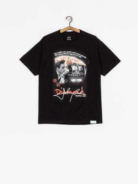 Tričko Diamond Supply Co. Ragged (black)