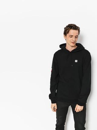 Mikina s kapucu0148ou Brixton Stowell Intl HD (black)