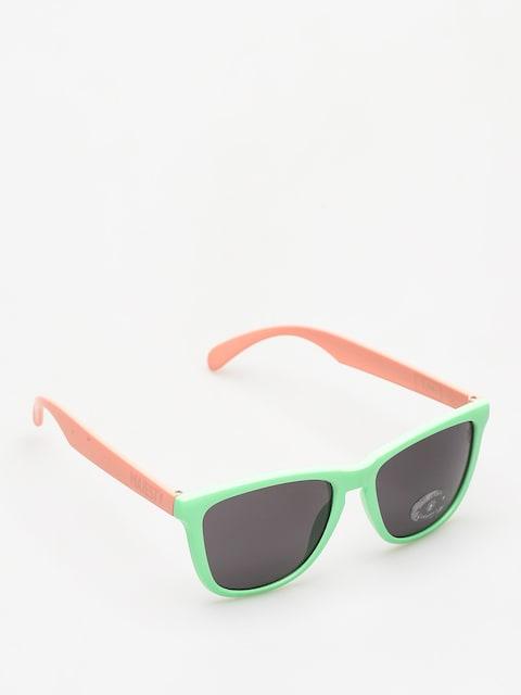 Slnečné okuliare Majesty Shades M (avocado/powder pink/smoke lens)