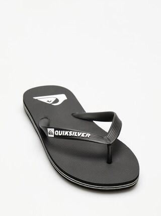 u017dabky Quiksilver Molokai (black/black/white)