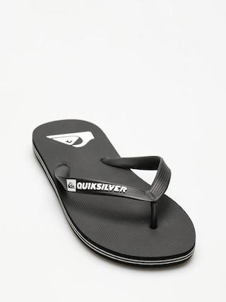 Žabky Quiksilver Molokai (black/black/white)