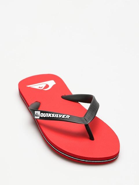 Plážovky Quiksilver Molokai (black/red/white)