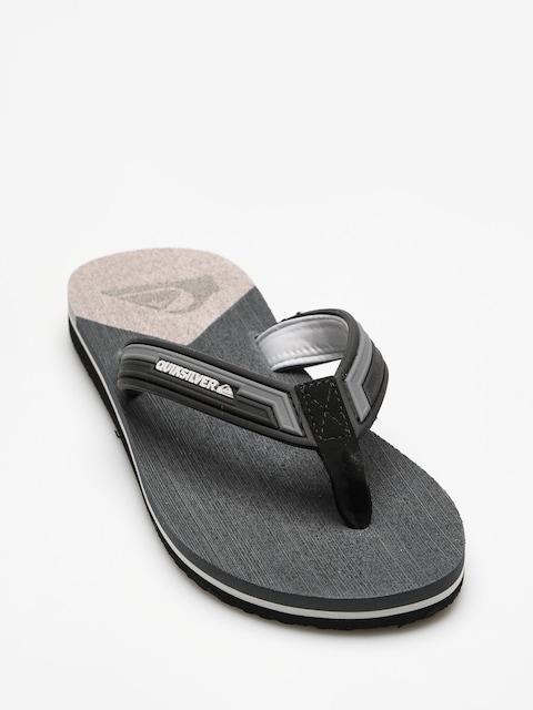 Plážovky Quiksilver Molokai New Wav (grey/black/grey)