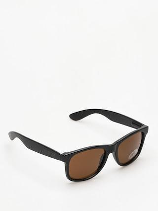 Slneu010dnu00e9 okuliare Majesty Shades L (black/black brown lens)