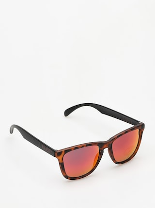 Slneu010dnu00e9 okuliare Majesty Shades M (tortoise/black red mirror lens)