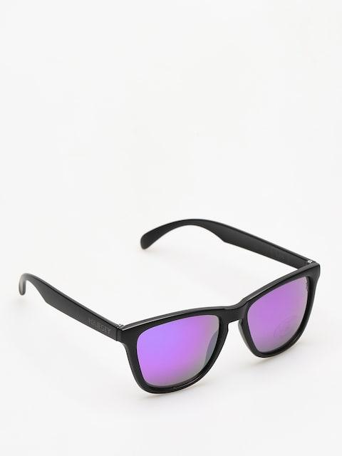 Slnečné okuliare Majesty Shades M (black/purple mirror lens)