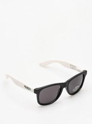 Slnečné okuliare Majesty Shades L (black/white smoke lens)
