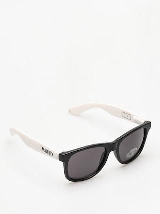 Slneu010dnu00e9 okuliare Majesty Shades L (black/white smoke lens)