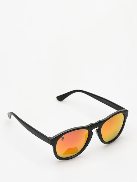 Slnečné okuliare Majesty Crux (black/graphite red mirror lens)