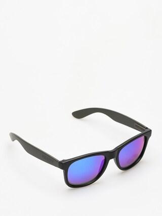 Slnečné okuliare Majesty Shades L (black/graphite blue mirror lens)