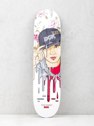 Doska DGK Desarmo Murked (white/red)