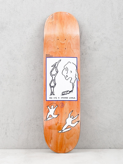 Doska Polar Skate Its A Strange World Nick Boseiro (orange)