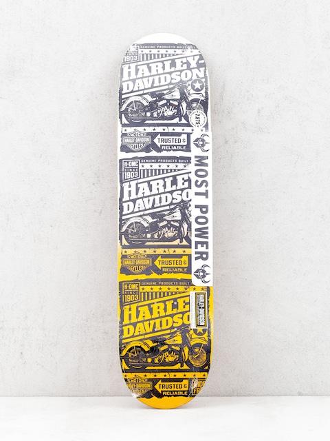 Doska Darkstar Harley Davidson Ride Free (orange fade)