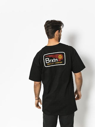 Tričko Brixton Messenger Stt (black)