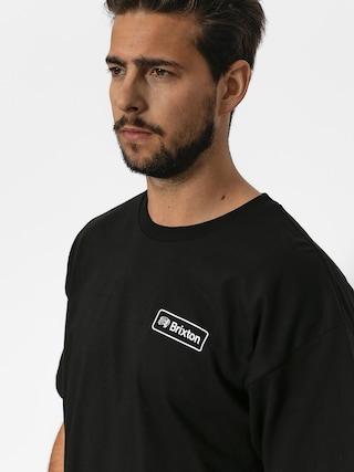 Tričko Brixton Valspar II Stt (black)
