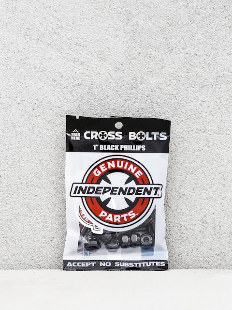 Skrutky Independent Cross Bolts Phillips (black)
