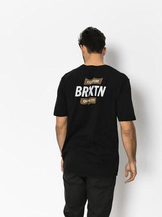Tričko Brixton Garth II Prt (black/gold)