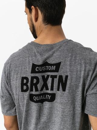 Tričko Brixton Garth II Prt (heather grey)