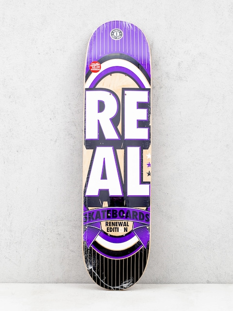 Doska Real Renewal Stacked Mini (purple/white)