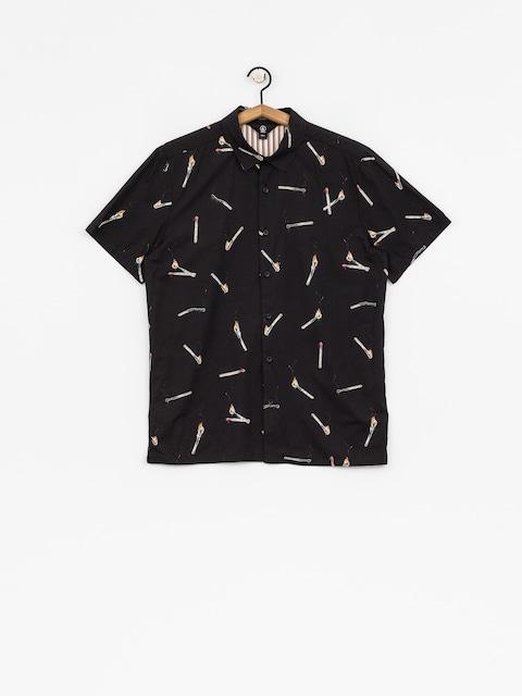 Košeľa Volcom Waits (blk)