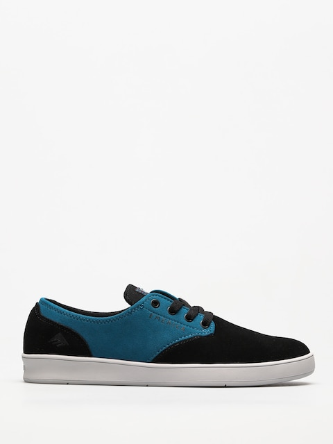 Topánky Emerica The Romero Laced X Toy Machine (black/turquoise)