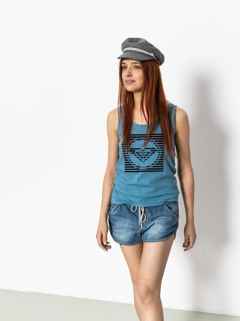 Tričko Roxy Koszulka Billy B Wmn (blue shadow)