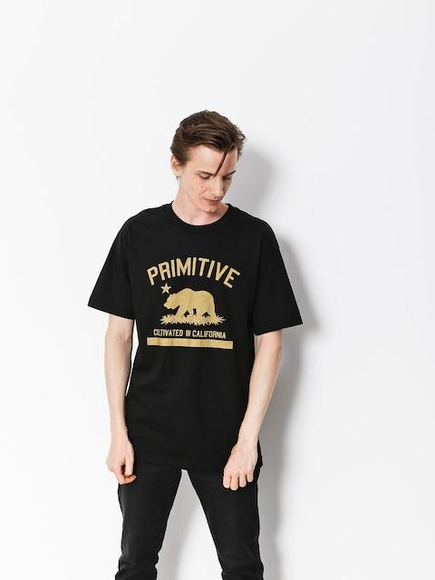 Tričko Primitive Cultivated Solid (black)