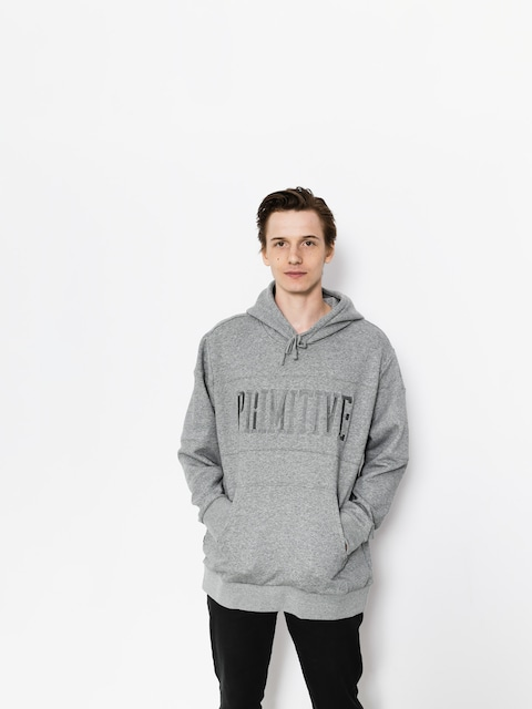 Mikina s kapucňou Primitive League Paneled HD (grey)