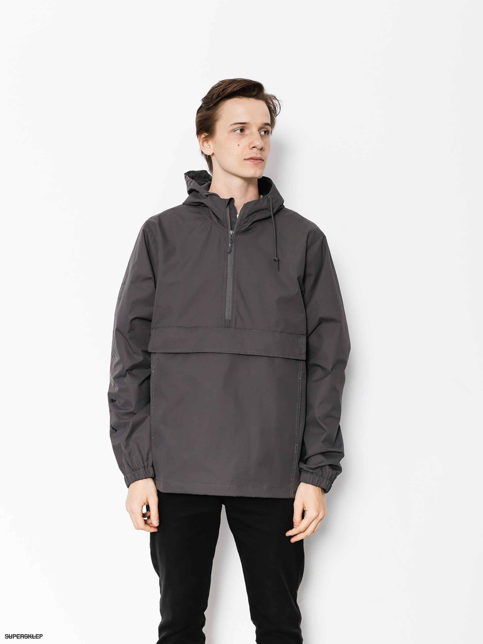 Bunda Welcome Tali Scrawl Anorak (graphite/black)