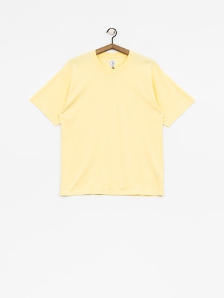 Tričko Polar Skate Happy Sad Garment Dyed (light yellow)