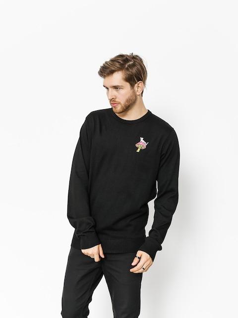 Sveter RipNDip Psychedelic Knit (black)