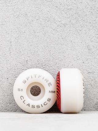 Kolieska Spitfire Classic (white/red)