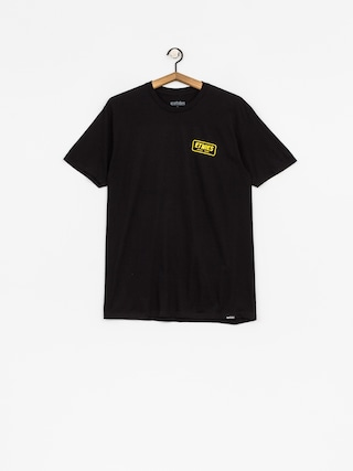 Tričko Etnies Quality Control (black)