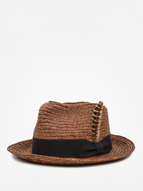 Klobúk Brixton Crosby II Fedora (brown)