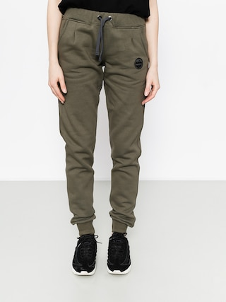Nohavice Majesty Adventure Drs Wmn (army green)
