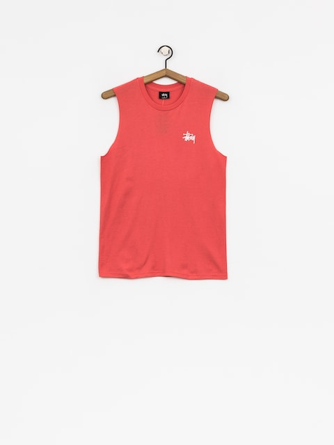 Tričko Stussy Basic Raw Muscle Wmn (rose)