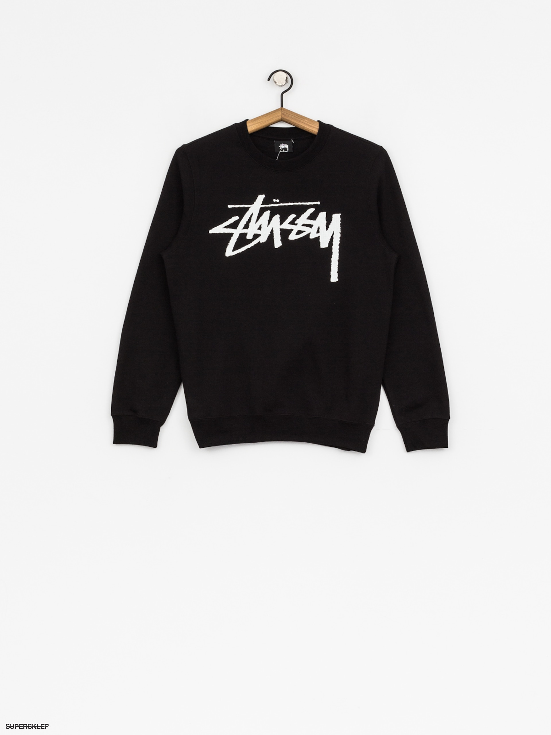 Mikina Stussy Old Stock Wmn (black)