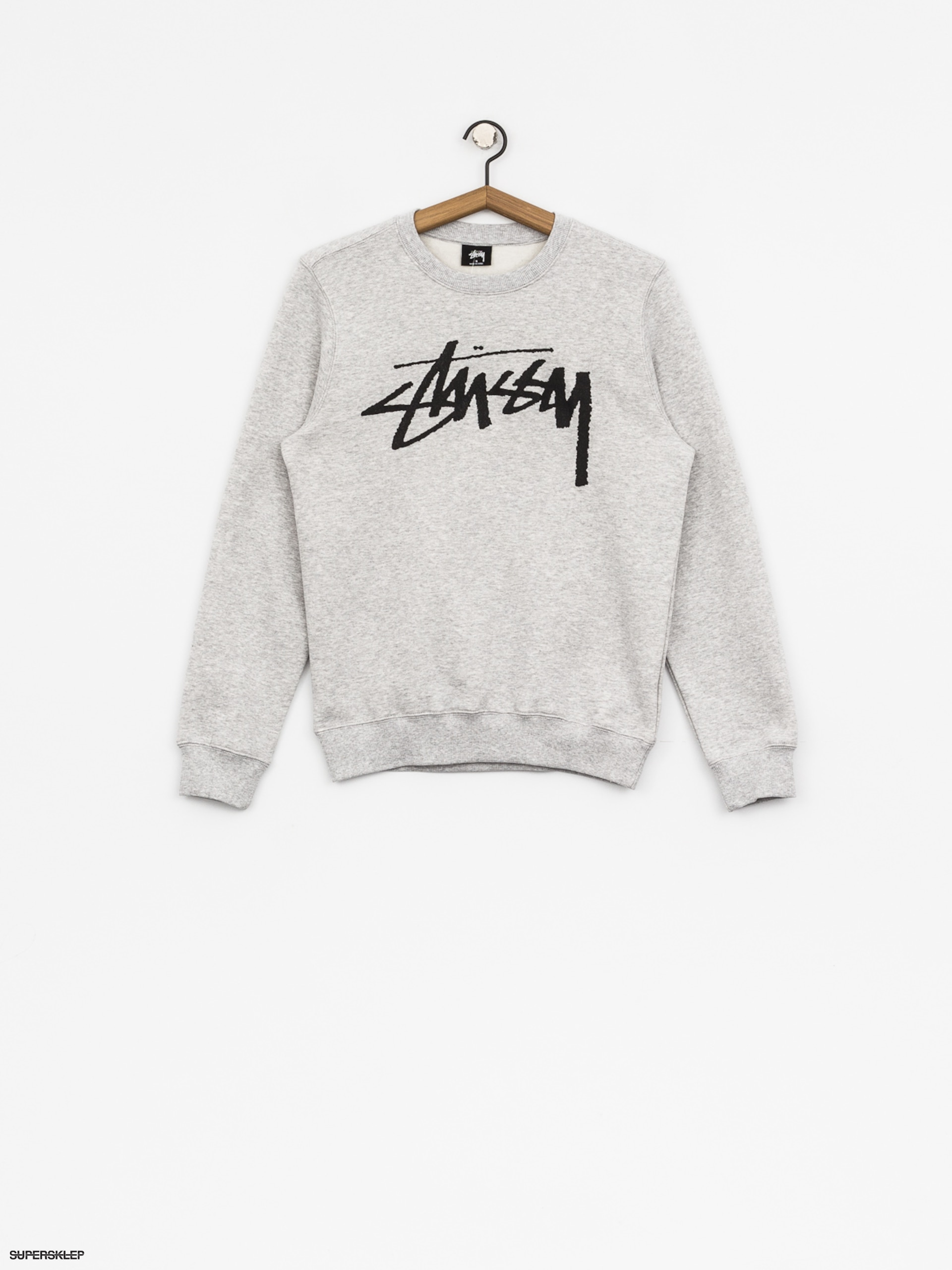 Mikina Stussy Old Stock Wmn (grey heather)