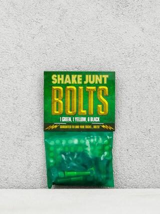 Skrutky Shake Junt Bolts Allen (black/green/yellow)