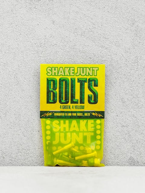 Skrutky Shake Junt Bolts Phillips (green/yellow)