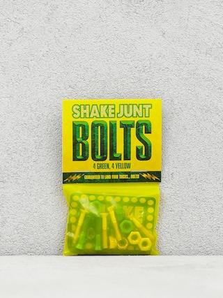 Skrutky Shake Junt Bolts Allen (green/yellow)