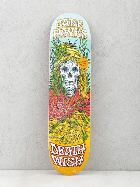 Doska Deathwish Jh Buried Alive (teal/red/orange)