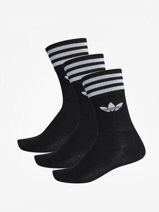 Ponou017eky adidas Originals Solid Crew (black/white)