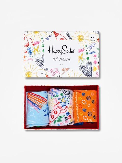 Ponožky Happy Socks Mothers Day 3pk Giftbox (multicolor)