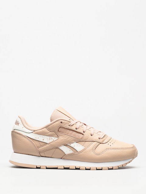 Topánky Reebok Classic Leather Wmn (sidestripes bare beige/white)
