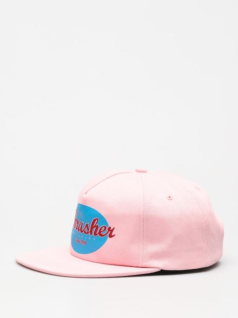 Šiltovka Thrasher Oval ZD (pink)