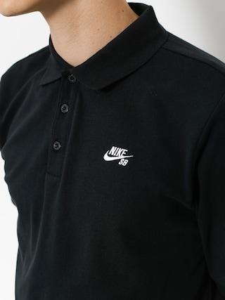 Polo tričko Nike SB Sb Dri Fit Pique (black)