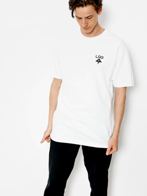 Tričko LRG Logo Plus (white)