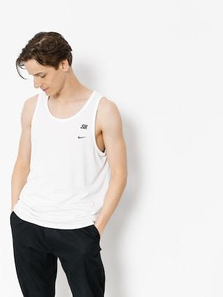 Tričko Nike SB Sb Dry Mesh (white/vintage coral/deep jungle)